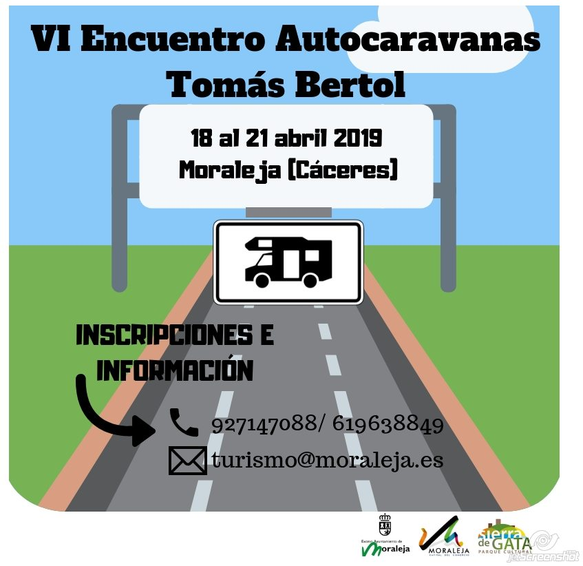 Vi Encuentro De Autocaravanas Tomas Bertol La Moraleja Caceres